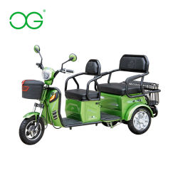 Triciclo eléctrico Scooter Mini Bus/ Battery-Oper Ate Scooter antiguo vehículo recreativo urbano autobuses pequeños Single Doble disponible /China Mini Bus