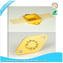 Electronic Component Hermetic Package를 위한 Flat Stelp Base의 Kovar Pins