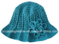 Crochet Sun Hat, godet Hat