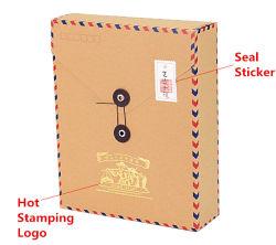 طباعة مخصصة صندوق بريد ورق كرافت
