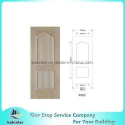 Dos veces-Moldear la piel de la puerta con la piel profunda de la puerta del MDF del surco