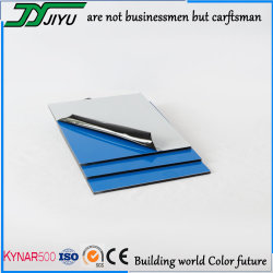 4mm PVDF panneau composite aluminium utiliser pour le revêtement mural extérieur