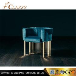 جديدة تصميم اللون الأخضر مخمل حديثة كرسي تثبيت [دين رووم] أثاث لازم