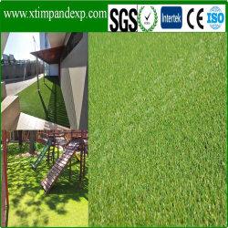 Erba artificiale del tappeto erboso di buoni prezzi di promozione di 3% per l'applicazione di paesaggio