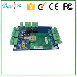 شبكة RFID لوحة التحكم في الوصول إلى TCP/IP ببابين مجانًا برنامج لنظام أمان الباب