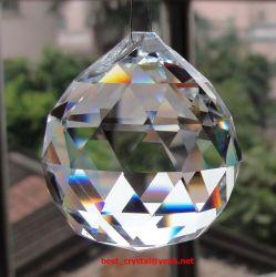 Bola facetada de cristal