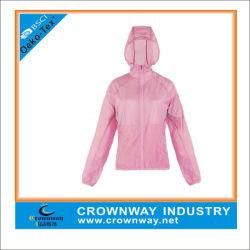 Rosa Linda Deportes encapuchados chaqueta ligera para niñas