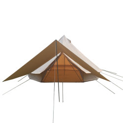 2018 Hot Selling Big Camping Bell Rock Indian Teepee Camping Tent