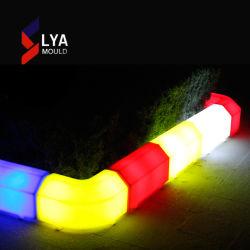 LED de molde Lya frenar los bloques de la calle de la luz de piedra