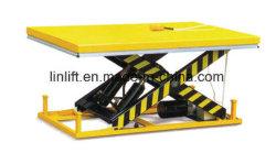 Table élévatrice à ciseaux hydraulique avec certificat CE (HW)