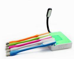소형 USB 키보드 LED 책상용 램프 휴대용 유연한 휴대용 퍼스널 컴퓨터 밤 독서 빛
