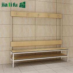 Chaise longue avec panneau stratifié compact