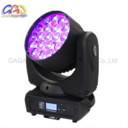 19 x 12 W Osram Zoom LED ビームムービングヘッドライト
