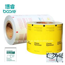 아이유리 청소용 와이퍼용 금속 알루미늄 호일 용지, 알루미늄 호일 랩 용지 렌즈/스크린 청소 와이프