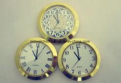 Cuarzo analógico de promoción de la pequeña tapa metálica de oro reloj Relojes Mini