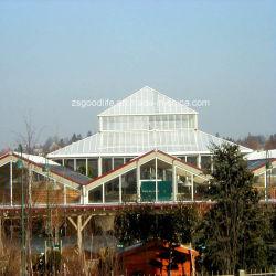 ISO-anerkanntes Wetter-beständiger Polycarbonat Rooflight Blatt-Gebäude-Plastik
