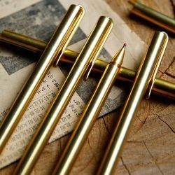 Wholesale Creative Handmade Metal Pen de latón