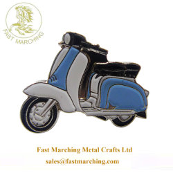Usine moto Customzied Mens émail Liens brassard Guntlet bouton métallique