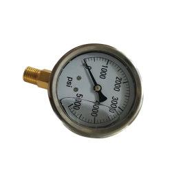 5000psi filetage NPT 1/4 Jauge de lavage haute pression