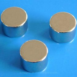N42sh Dia15mm Höhe 6mm sinterte NdFeB starker Magnet kundenspezifische Größe