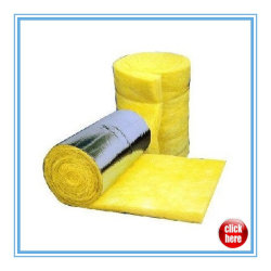 El aislamiento de fibra de vidrio lana de vidrio/ Manta de lana de fibra de vidrio
