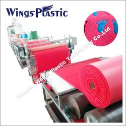 칭다오에서 판매하기 위한 PVC 쿠션 매트 롤 생산 라인 중국