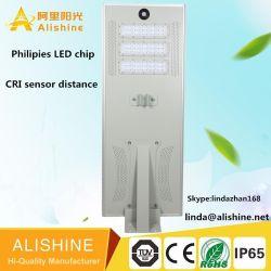 전기 빌 태양 LED 가로등 없는 100% 태양 강화해,