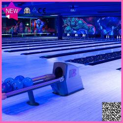 Attrezzatura da bowling, copriletto da bowling a luce tenebuia