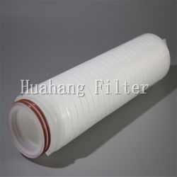 Micras PP/PSE/PTFE/Nylon cartucho de filtro de pliegues para tratamiento de agua