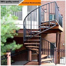 쇼핑 홀/발코니용 현대적인 실내 스틸 글래스 계단