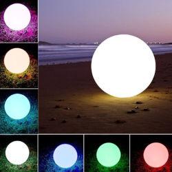 크리스마스 비치 볼 LED 가벼운 테이블 램프는 선물을