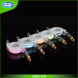 Kleurrijke Retractable Extension USB Charger Data Cable voor iPhone 6/6s en Samsung