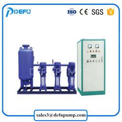Suministro de la fábrica de refuerzo de frecuencia variable de la bomba de agua a presión para la construcción de Abastecimiento de Agua
