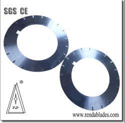 Ld redondo de material de HSS Ciclo circular giratoria de banda de acero de la hoja de corte/cuchillo para la elaboración de metales