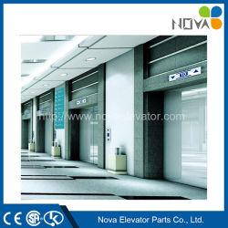 Elevatore dell'elevatore del passeggero con la baracca dell'acciaio inossidabile della linea sottile