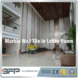 De natuurlijke Marmeren Tegel/de Bekleding van de Muur voor Hal/Woonkamer/de Zaal van het Bad