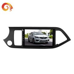 راديو سيارة بحجم DIN لنظام الملاحة بمشغّل فيديو السيارة KIA جهاز متكامل بنظام Android 8.1 نظام الملاحة العالمي GPS 16G Memory Touch مشغل أقراص DVD للسيارة المزود بتقنية Bluetooth HD بشاشة