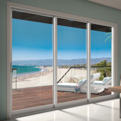 Наружные защитные элементы роскоши с двойными стеклами опускного стекла передней двери из алюминия