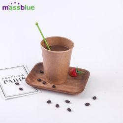 Schön fertigt Wegwerfpapiercup-Kaffeetassen kundenspezifisch an