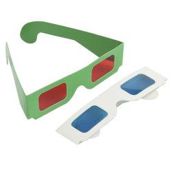 3-D'anaglyphe lunettes pleine couleur peut Logo personnalisé