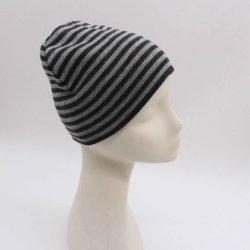 Полоса трикотажные головные уборы мода крышки