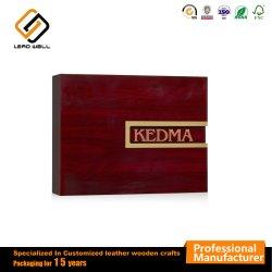 カスタマイズされた木の装飾的なギフト包装ボックス製造