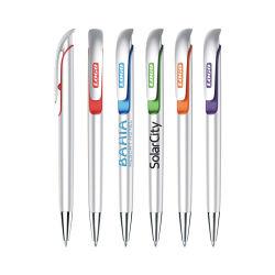 Logo personnalisé cadeau promotionnel stylo à bille en plastique pour la papeterie