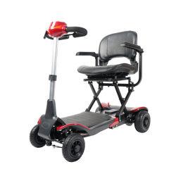 Vouwbare Vierwielige Elektrische Autoped voor Bejaarde Mensen