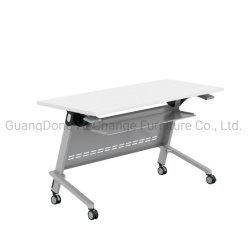 Schule-flexible bewegliche faltende Schreibtisch-Möbel mit dem Aluminiumbein (HC-03A)