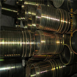 Метрический Переходник трубки с шарнирной гайке (2C)