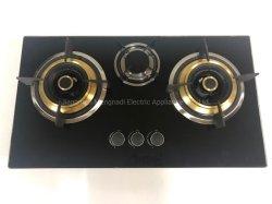 3 fresa incorporata superiore di vetro dei bruciatori 730/fresa del gas