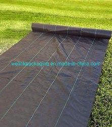 El control de malezas caliente película de membrana de Malezas Negro Mat Vivero césped Anti paño con tratamiento UV