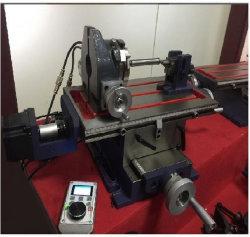 Mesa de trabalho rotativa com 4.º eixo fresadora CNC