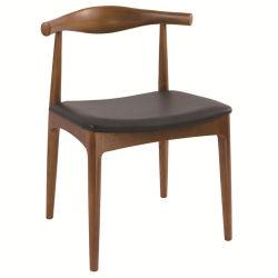 Mínimo de um design forte e cadeira de jantar em madeira maciça para restaurante